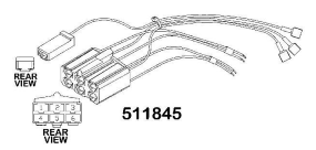 AGCO RADIO HARNESS