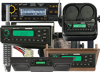 Some of the many products at Farm Radio Supply